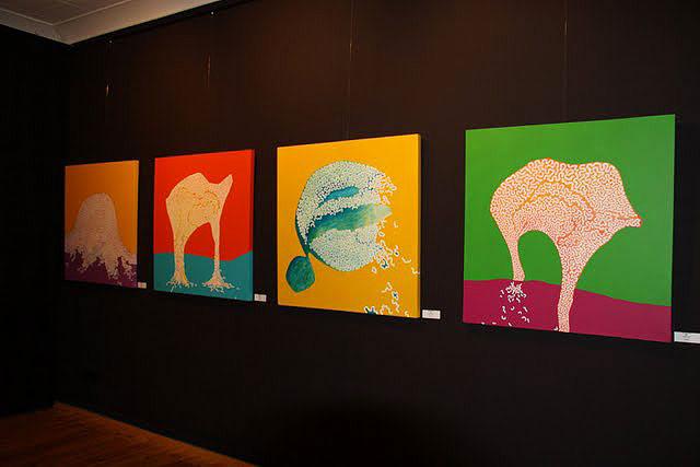 kunst ausstellungen in berlin aktuelle ausstellung bilder malerei galerie leoart. Black Bedroom Furniture Sets. Home Design Ideas
