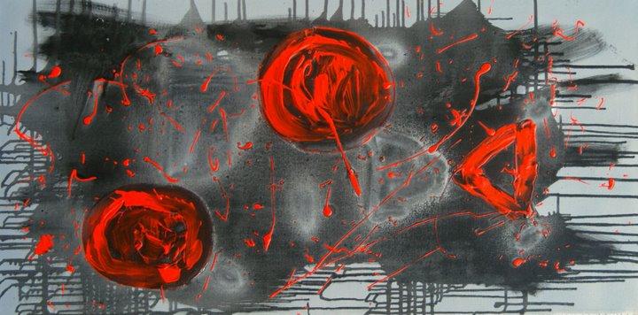 Kunst abstrakte malerei bilder querformat zum kaufen for Abstrakte kunstdrucke